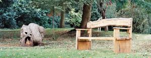 Woodbrooke bench